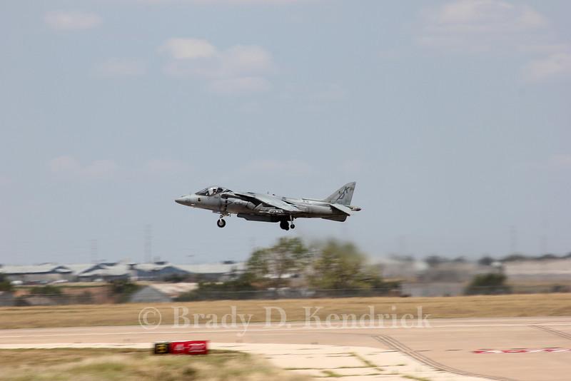 "-(Aircraft) McDonnell Douglas AV-8B Harrier II<br /> -(Nation & Service) United States Marine Corps<br /> -(Squadron) Marine Attack Training Squadron 203 ""Hawks""<br /> -(Home Base) Marine Corps Air Station Cherry Point, North Carolina"