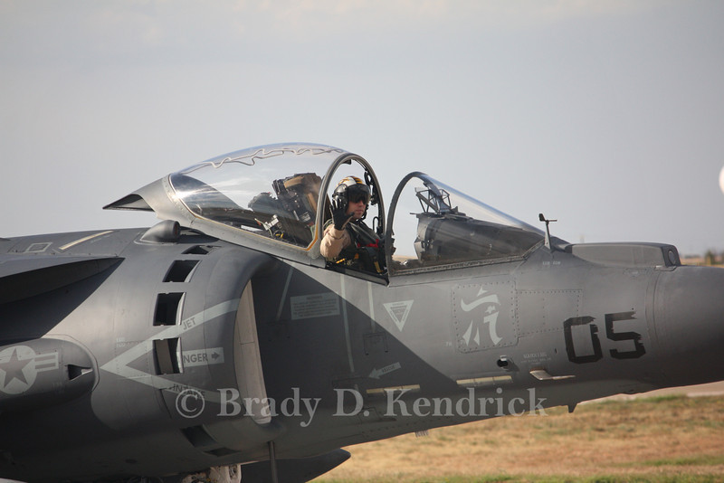 "-(Aircraft) McDonnell Douglas AV-8B Harrier II<br /> -(Nation & Service) United States Marine Corps<br /> -(Squadron) Marine Attack Squadron 542 ""Tigers""<br /> -(Home Base) Marine Corps Air Station Cherry Point, North Carolina"