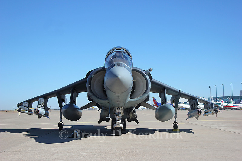 """-(Aircraft) McDonnell Douglas AV-8B Harrier II<br /> -(Nation & Service) United States Marine Corps<br /> -(Squadron) Marine Attack Squadron 223 """"Bulldogs"""" <br /> -(Home Base) Marine Corps Air Station Cherry Point, North Carolina"""