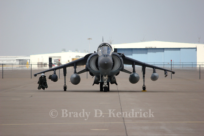 "-(Aircraft) McDonnell Douglas AV-8B Harrier II<br /> -(Nation & Service) United States Marine Corps<br /> -(Squadron) Marine Attack Squadron 231 ""Ace of Spades""<br /> -(Home Base) Marine Corps Air Station Cherry Point, North Carolina"
