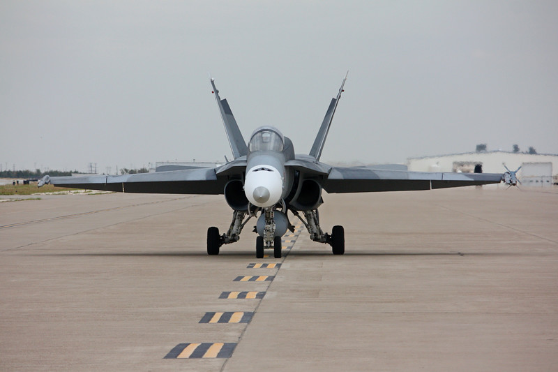 "-(Aircraft) McDonnell Douglas F/A-18A+ Hornet<br /> -(Nation & Service) United States Navy<br /> -(Squadron) Strike Fighter Squadron 204 ""River Rattlers"" <br /> -(Home Base) Naval Air Station Joint Reserve Base New Orleans, Louisiana"