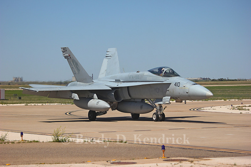 "-(Aircraft) McDonnell Douglas F/A-18C Hornet<br /> -(Nation & Service) United States Navy<br /> -(Squadron) Strike Fighter Squadron 192 ""World Famous Golden Dragons""<br /> -(Home Base) Naval Air Station Lemoore, California"