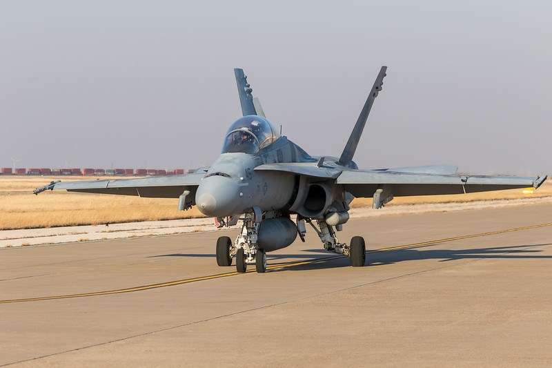 "-(Aircraft) McDonnell Douglas F/A-18D Hornet<br /> -(Nation & Service) United States Navy<br /> -(Squadron) Strike Fighter Squadron 106 ""Gladiators"" <br /> -(Home Base) Naval Air Station Oceana, Virginia"