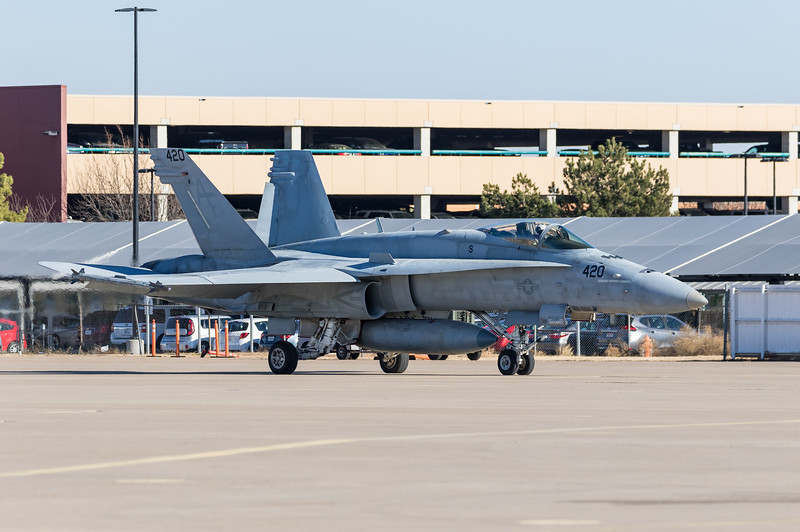 "-(Aircraft) McDonnell Douglas F/A-18C Hornet <br /> -(Nation & Service) United States Navy<br /> -(Squadron) Strike Fighter Squadron 204 ""River Rattlers"" <br /> -(Home Base) Naval Air Station Joint Reserve Base New Orleans, Louisiana"