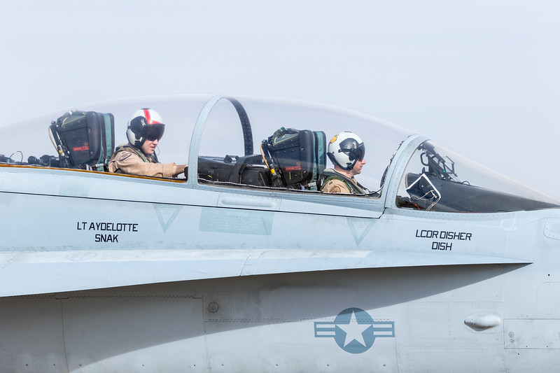 """-(Aircraft) McDonnell Douglas F/A-18D Hornet<br /> -(Nation & Service) United States Navy<br /> -(Squadron) Strike Fighter Squadron 106 """"Gladiators"""" <br /> -(Home Base) Naval Air Station Oceana, Virginia"""