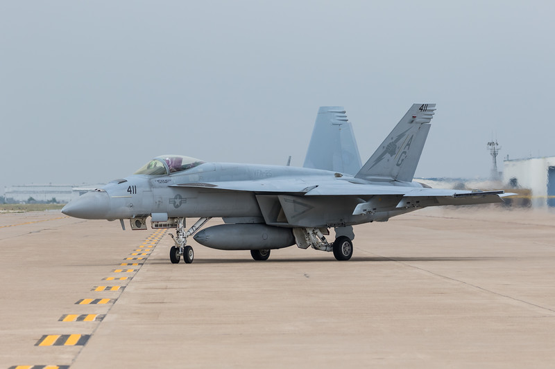 "-(Aircraft) Boeing F/A-18E Super Hornet<br /> -(Nation & Service) United States Navy<br /> -(Squadron) Strike Fighter Squadron 25 ""Fist of the Fleet""<br /> -(Home Base) Naval Air Station Lemoore, California"