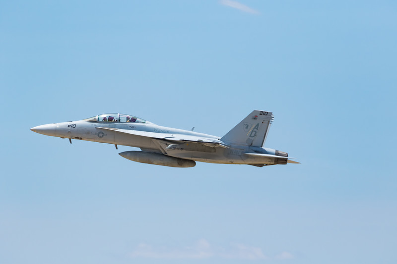 "-(Aircraft) Boeing F/A-18F Super Hornet <br /> -(Nation & Service) United States Navy<br /> -(Squadron) Strike Fighter Squadron 106 ""Gladiators"" <br /> -(Home Base) Naval Air Station Oceana, Virginia"