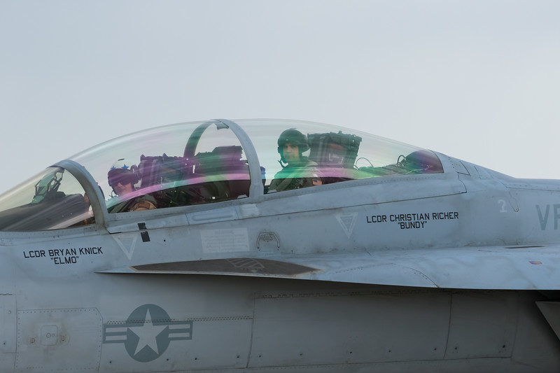 """-(Aircraft) Boeing F/A-18F Super Hornet<br /> -(Nation & Service) United States Navy<br /> -(Squadron) Strike Fighter Squadron 41 """"Black Aces""""<br /> -(Home Base) Naval Air Station Lemoore, California"""