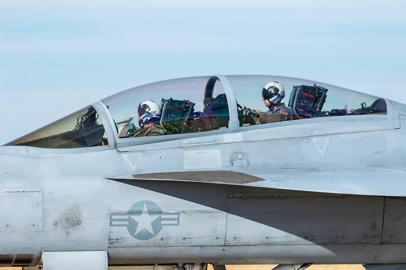"""-(Aircraft) Boeing F/A-18F Super Hornet<br /> -(Nation & Service) United States Navy<br /> -(Squadron) Strike Fighter Squadron 122 """"Flying Eagles"""" <br /> -(Home Base) Naval Air Station Lemoore, California"""