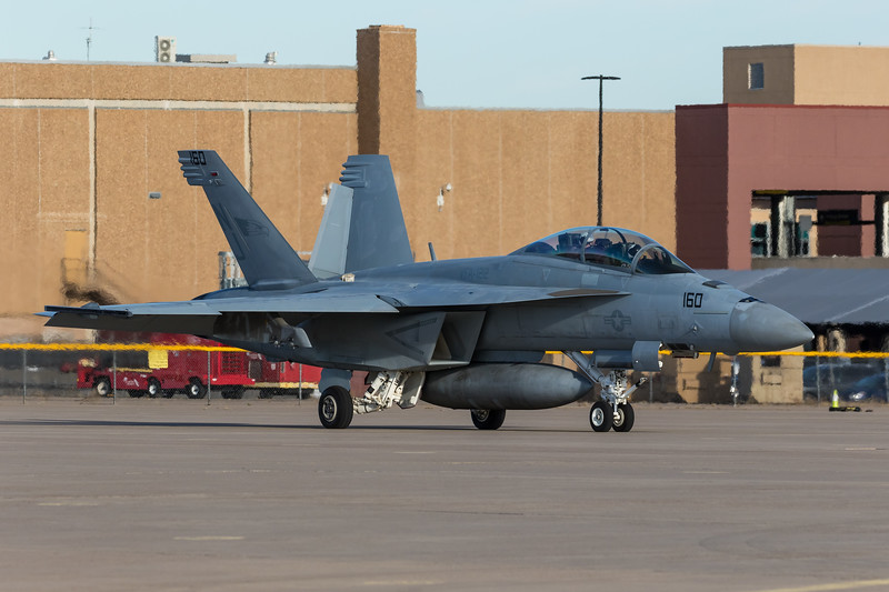 "-(Aircraft) Boeing F/A-18F Super Hornet<br /> -(Nation & Service) United States Navy<br /> -(Squadron) Strike Fighter Squadron 122 ""Flying Eagles""<br /> -(Home Base) Naval Air Station Lemoore, California"