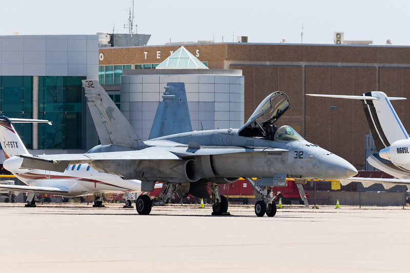 "-(Aircraft) McDonnell Douglas F/A-18C Hornet<br /> -(Nation & Service) United States Navy<br /> -(Squadron) Strike Fighter Squadron 131 ""Wildcats"" <br /> -(Home Base) Naval Air Station Oceana, Virginia"