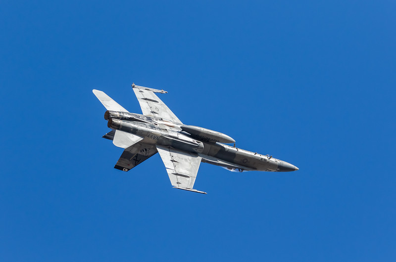 "-(Aircraft) McDonnell Douglas F/A-18A+ Hornet <br /> -(Nation & Service) United States Navy<br /> -(Squadron) Strike Fighter Squadron 204 ""River Rattlers"" <br /> -(Home Base) Naval Air Station Joint Reserve Base New Orleans, Louisiana"