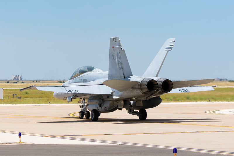 "-(Aircraft) McDonnell Douglas F/A-18D Hornet<br /> -(Nation & Service) United States Navy<br /> -(Squadron) Strike Fighter Squadron 106 ""Gladiators""<br /> -(Home Base) Naval Air Station Oceana, Virginia"
