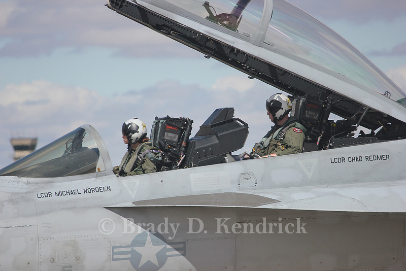 "-(Aircraft) Boeing F/A-18F Super Hornet<br /> -(Nation & Service) United States Navy<br /> -(Squadron) Strike Fighter Squadron 32 ""Fighting Swordsmen"" <br /> -(Home Base) Naval Air Station Oceana, Virginia"