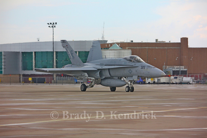 "-(Aircraft) McDonnell Douglas F/A-18C Hornet<br /> -(Nation & Service) United States Navy<br /> -(Squadron) Strike Fighter Squadron 106  ""Gladiators"" <br /> -(Home Base) Naval Air Station Oceana, Virginia"