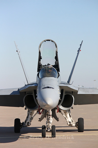 "-(Aircraft) McDonnell Douglas F/A-18C Hornet<br /> -(Nation & Service) United States Navy<br /> -(Squadron) Strike Fighter Squadron 83  ""Rampagers"" <br /> -(Home Base) Naval Air Station Oceana, Virginia"