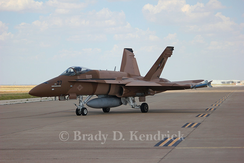 -(Aircraft) McDonnell Douglas F/A-18C Hornet<br /> -(Nation & Service) United States Navy<br /> -(Squadron) Naval Strike and Air Warfare Center <br /> -(Home Base) Naval Air Station Fallon, Nevada