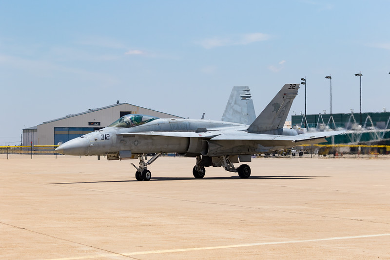 """-(Aircraft) McDonnell Douglas F/A-18C Hornet<br /> -(Nation & Service) United States Navy<br /> -(Squadron) Strike Fighter Squadron 131 """"Wildcats"""" <br /> -(Home Base) Naval Air Station Oceana, Virginia"""