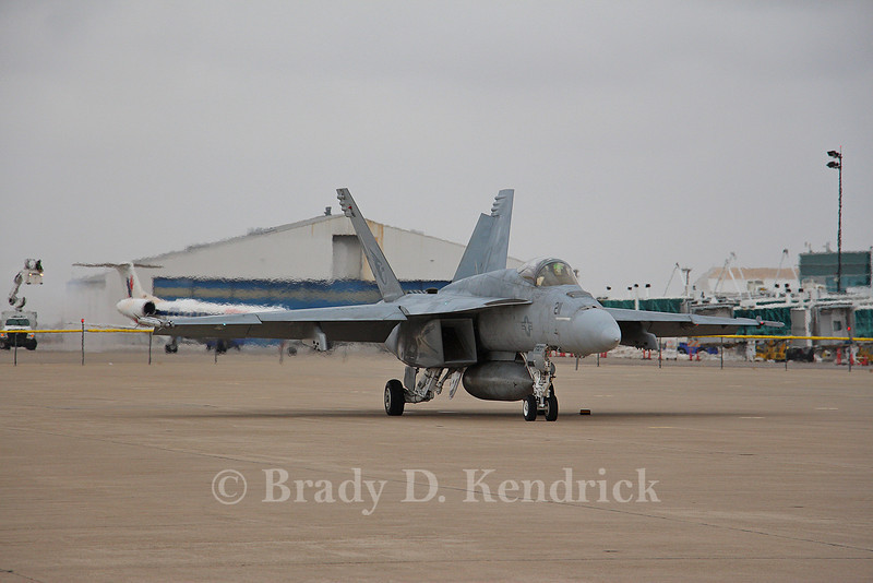 "-(Aircraft) Boeing F/A-18F Super Hornet  <br /> -(Nation & Service) United States Navy<br /> -(Squadron) Strike Fighter Squadron 137 ""Kestrels""<br /> -(Home Base) Naval Air Station Lemoore, California"