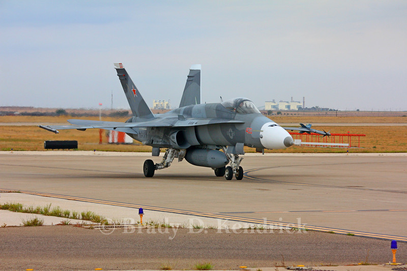 "-(Aircraft) McDonnell Douglas F/A-18A+ Hornet<br /> -(Nation & Service) United States Navy<br /> -(Squadron) Strike Fighter Squadron 204 ""River Rattlers""<br /> -(Home Base) Naval Air Station Joint Reserve Base New Orleans, Louisiana"