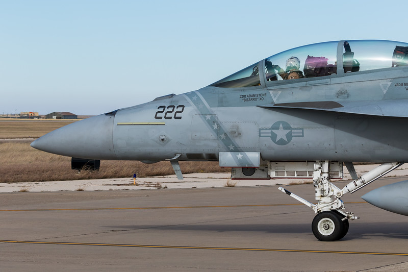 "-(Aircraft) Boeing F/A-18F Super Hornet<br /> -(Nation & Service) United States Navy<br /> -(Squadron) Air Test and Evaluation Squadron Nine ""Vampires"" <br /> -(Home Base) Naval Air Weapons Station China Lake, California"