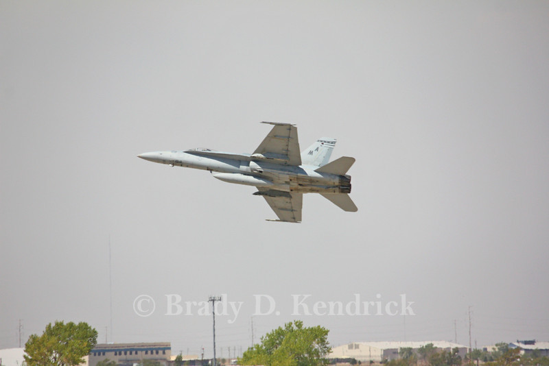 "-(Aircraft) McDonnell Douglas F/A-18A+ Hornet<br /> -(Nation & Service) United States Marine Corps<br /> -(Squadron) Marine Fighter Attack Squadron 112 ""Cowboys""<br /> -(Home Base) Naval Air Station Joint Reserve Base Fort Worth, Texas"