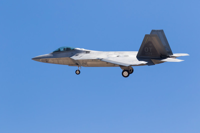 "-(Aircraft) Lockheed Martin F-22A Raptor<br /> -(Nation & Service) United States Air Force<br /> -(Squadron) 422nd Test and Evaluation Squadron ""Green Bats""<br /> -(Home Base) Nellis Air Force Base, Nevada"