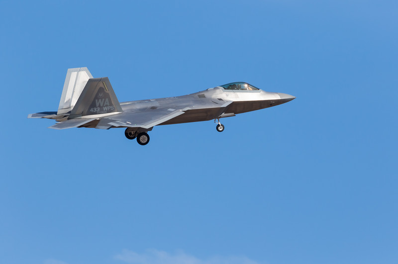 "-(Aircraft) Lockheed Martin F-22A Raptor<br /> -(Nation & Service) United States Air Force<br /> -(Squadron) 433rd Weapons Squadron ""Satan's Angels""<br /> -(Home Base) Nellis Air Force Base, Nevada"
