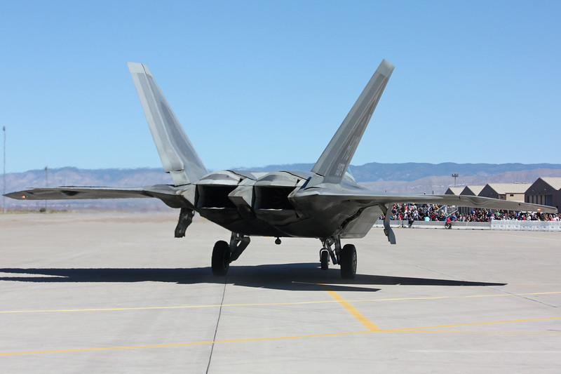 "-(Aircraft) Lockheed Martin F-22A Raptor<br /> -(Nation & Service) United States Air Force<br /> -(Squadron) 7th Fighter Squadron ""Screamin' Demons""<br /> -(Home Base) Holloman Air Force Base, New Mexico"