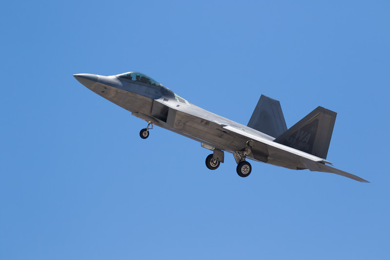 "-(Aircraft) Lockheed Martin F-22A Raptor<br /> -(Nation & Service) United States Air Force<br /> -(Squadron) 433rd Weapons Squadron ""Satan's Angels""<br /> -(Home Base) Nellis Air Force Base Nevada"
