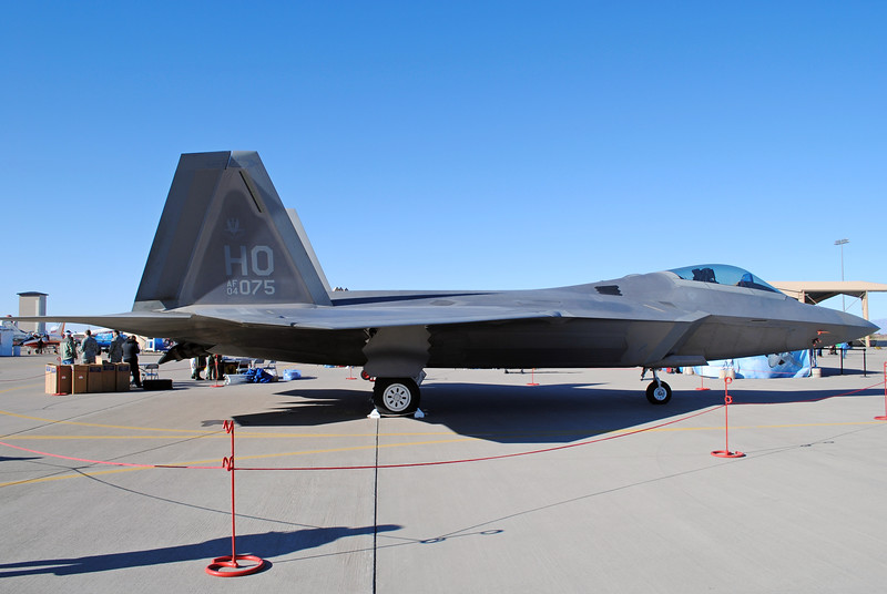 "-(Aircraft) Lockheed Martin F-22A Raptor<br /> -(Nation & Service) United States Air Force<br /> -(Squadron) 8th Fighter Squadron ""Black Sheep""<br /> -(Home Base) Holloman Air Force Base, New Mexico"