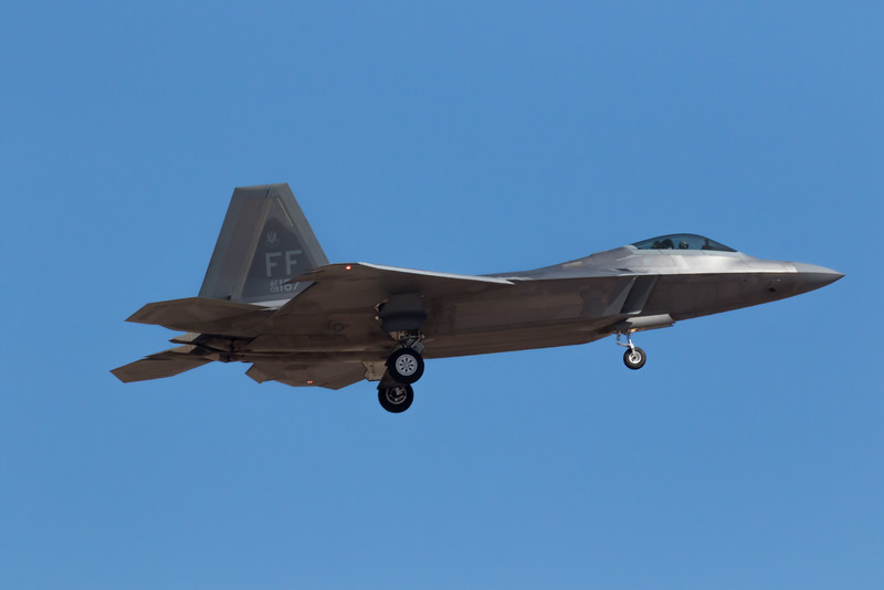"-(Aircraft) Lockheed Martin F-22A Raptor<br /> -(Nation & Service) United States Air Force<br /> -(Squadron) 27th Figher Squadron ""Fighting Eagles""<br /> -(Home Base) Joint Base Langley–Eustis, Virginia"