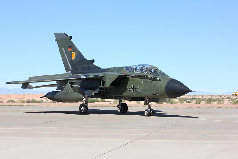 -(Aircraft) Panavia Tornado IDS<br /> -(Nation & Service) German Luftwaffe<br /> -(Squadron) Fliegerisches Ausbildungszentrum der Luftwaffe<br /> -(Home Base) Holloman Air Force Base, New Mexico