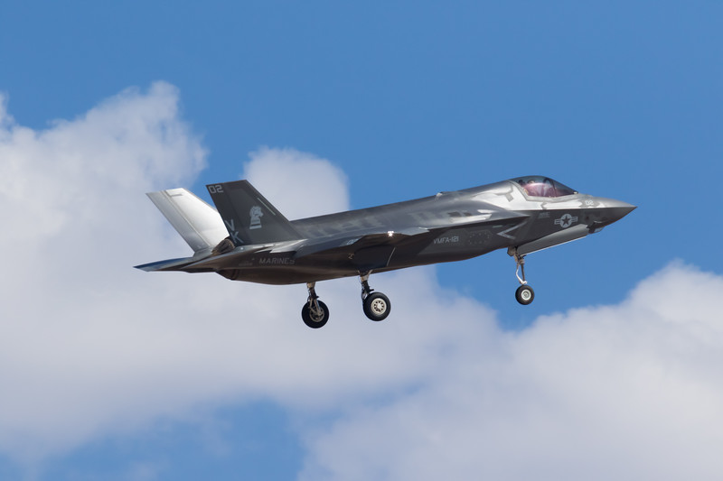 "-(Aircraft) Lockheed Martin F-35B Lightning II <br /> -(Nation & Service) United States Marine Corps<br /> -(Squadron) Marine Fighter Attack Squadron 121 (VMFA-121) ""Green Knights""<br /> -(Home Base) Marine Corps Air Station Iwakuni, Japan"