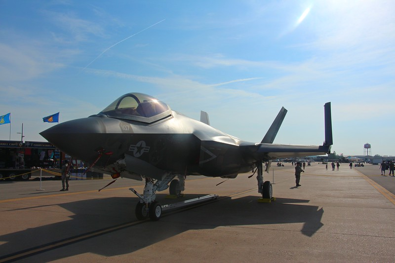 "-(Aircraft) Lockheed Martin F-35C Lightning II <br /> -(Nation & Service) United States Navy<br /> -(Squadron) Strike Fighter Squadron 101 ""Grim Reapers"" <br /> -(Home Base) Eglin Air Force Base, Florida"