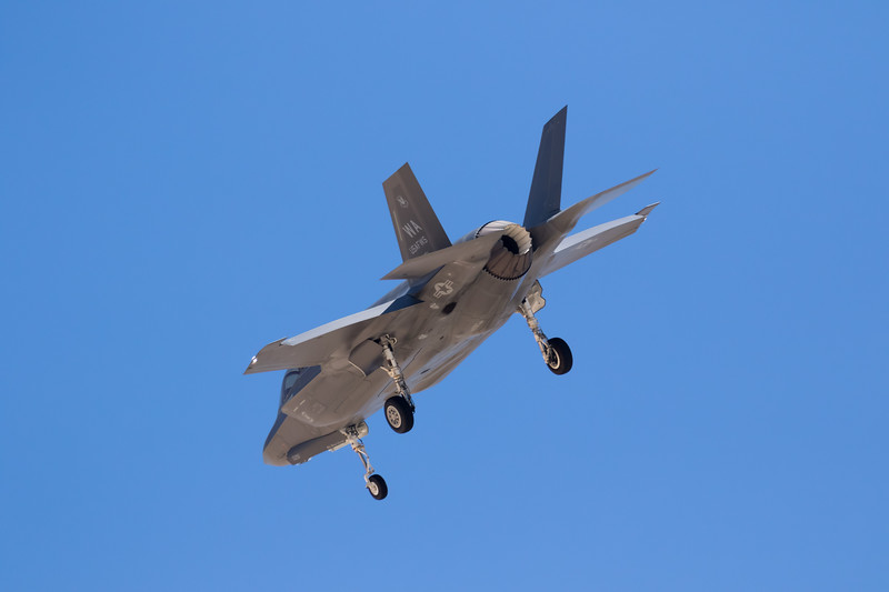 "-(Aircraft) Lockheed Martin F-35A Lightning II<br /> -(Nation & Service) United States Air Force<br /> -(Squadron) 16th Weapons Squadron ""Tomahawks"" <br /> -(Home Base) Nellis Air Force Base, Nevada"