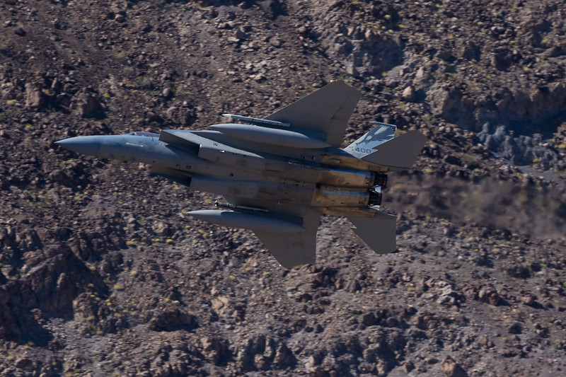 """-(Aircraft) McDonnell Douglas F-15C Eagle<br /> -(Nation & Service) United States Air Force<br /> -(Squadron) 194th Fighter Squadron """"Griffins"""" <br /> -(Home Base) Fresno Air National Guard Base, California"""