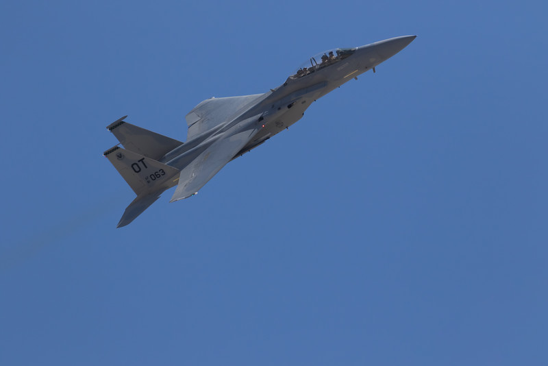 """-(Aircraft) Boeing F-15D Eagle<br /> -(Nation & Service) United States Air Force<br /> -(Squadron) 422nd Test & Evaluation Squadron """"Green Bats""""<br /> -(Home Base) Nellis Air Force Base, Nevada"""