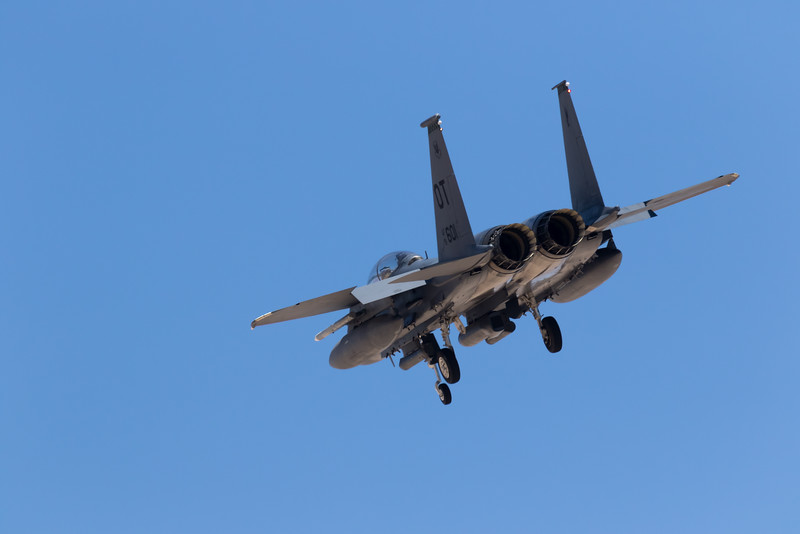 "-(Aircraft) Boeing F-15C Strike Eagle<br /> -(Nation & Service) United States Air Force<br /> -(Squadron) 422nd Test and Evaluation Squadron ""Green Bats""<br /> -(Home Base) Nellis Air Force Base, Nevada"