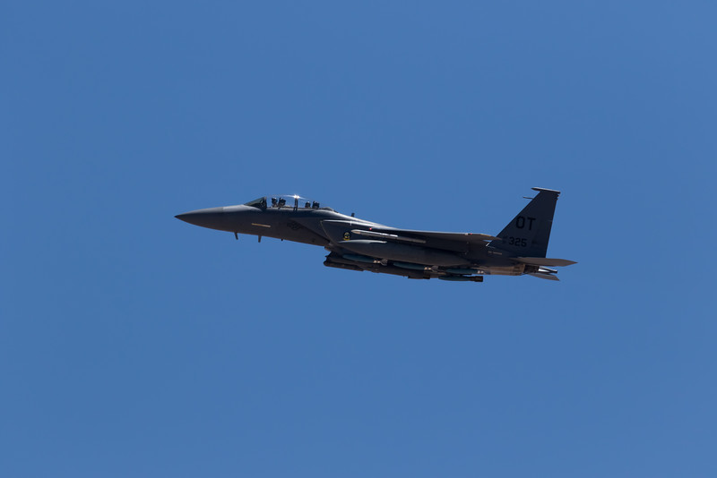 """-(Aircraft) Boeing F-15CE Strike Eagle<br /> -(Nation & Service) United States Air Force<br /> -(Squadron) 422nd Test and Evaluation Squadron """"Green Bats""""<br /> -(Home Base) Nellis Air Force Base, Nevada"""