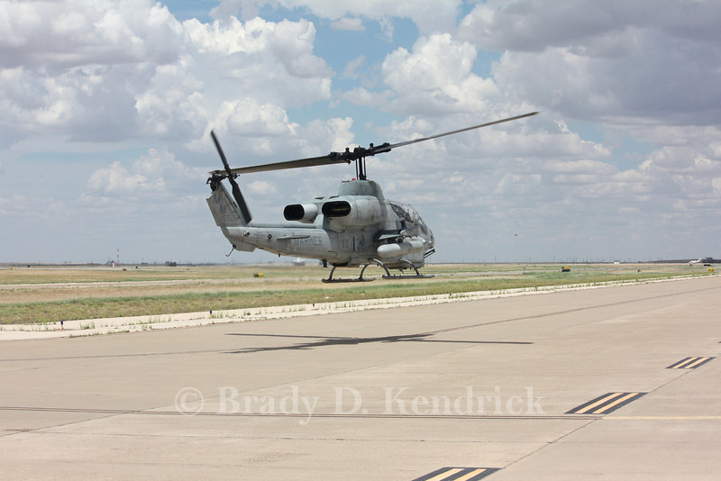 """-(Aircraft) Bell AH-1W SuperCobra<br /> -(Nation & Service) United States Marine Corps<br /> -(Squadron) Marine Light Attack Helicopter Squadron 773 """"Red Dogs""""<br /> -(Home Base) Joint Base McGuire–Dix–Lakehurst, New Jersey"""