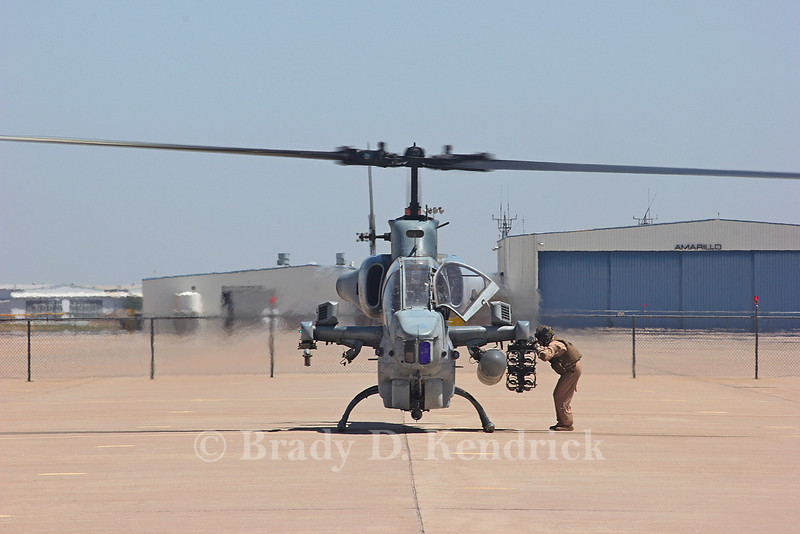 "-(Aircraft) Bell AH-1W SuperCobra <br /> -(Nation & Service) United States Marine Corps<br /> -(Squadron) Marine Light Attack Helicopter Squadron 167 ""Warriors"" <br /> -(Home Base) Marine Corps Air Station New River, North Carolina"