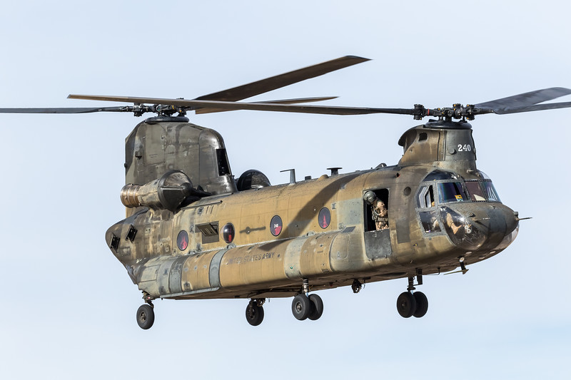 -(Aircraft) Boeing CH-47D Chinook <br /> -(Nation & Service) United States Army<br /> -(Squadron) 3rd Battalion, 25th Aviation Regiment, 25th Infantry Division<br /> -(Home Base) Wheeler Army Airfield, Hawaii