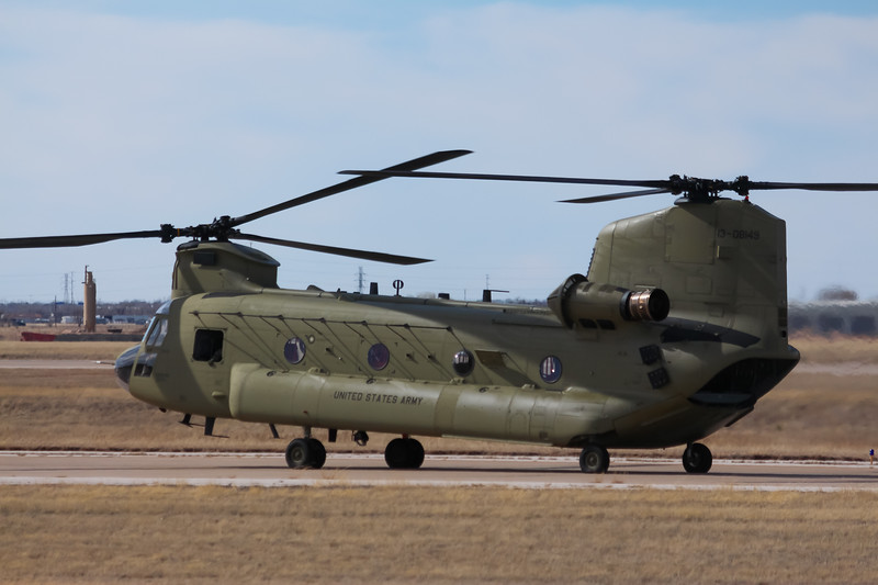 -(Aircraft) Boeing CH-47F Chinook <br /> -(Nation & Service) United States Army<br /> -(Squadron) 3rd Battalion, 25th Aviation Regiment, 25th Infantry Division<br /> -(Home Base) Wheeler Army Airfield, Hawaii
