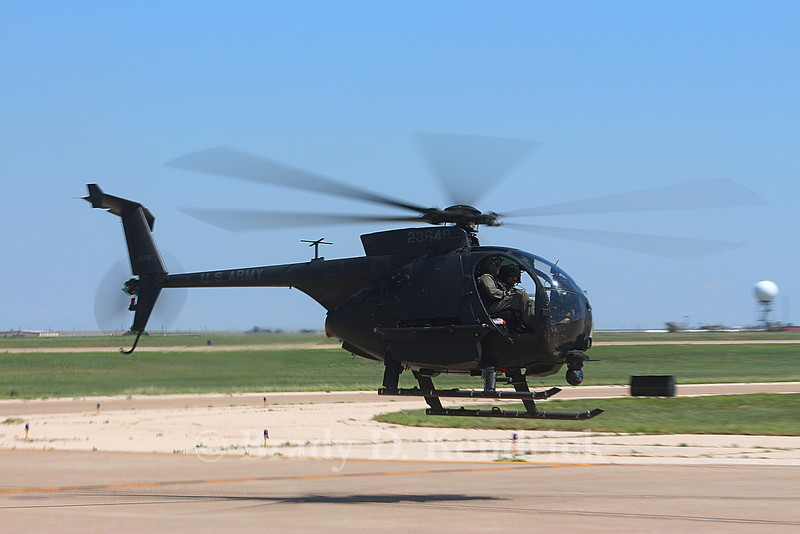 "-(Aircraft) MD Helicopters MH-6 Little Bird<br /> -(Nation & Service) United States Army<br /> -(Squadron) 160th Special Operations Aviation Regiment ""Night Stalkers""<br /> -(Home Base) Fort Campbell, Kentucky"
