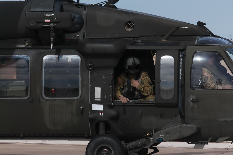 -(Aircraft) Sikorsky UH-60L Black Hawk<br /> -(Nation & Service) United States Army<br /> -(Squadron) <br /> -(Home Base)