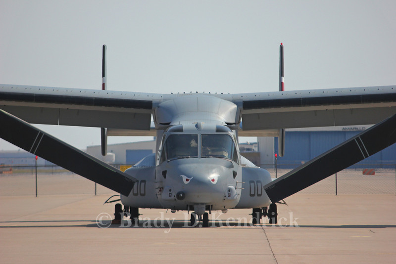 "-(Aircraft) Boeing MV-22B Osprey <br /> -(Nation & Service) United States Marine Corps<br /> -(Squadron) Marine Medium Tiltrotor Squadron 163 ""Ridge Runners""<br /> -(Home Base) Marine Corps Air Station Miramar, California"