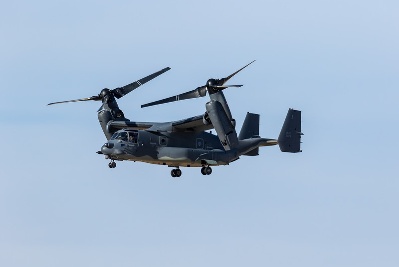"-(Aircraft) Bell-Boeing CV-22B Osprey<br /> -(Nation & Service) United States Air Force<br /> -(Squadron) 20th Special Operations Squadron ""Green Hornets""<br /> -(Home Base) Cannon Air Force Base, New Mexico"