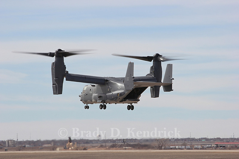 "-(Aircraft) Boeing CV-22B Osprey<br /> -(Nation & Service) United States Air Force<br /> -(Squadron) 20th Special Operations Squadron ""Green Hornets""<br /> -(Home Base) Cannon Air Force Base, New Mexico"