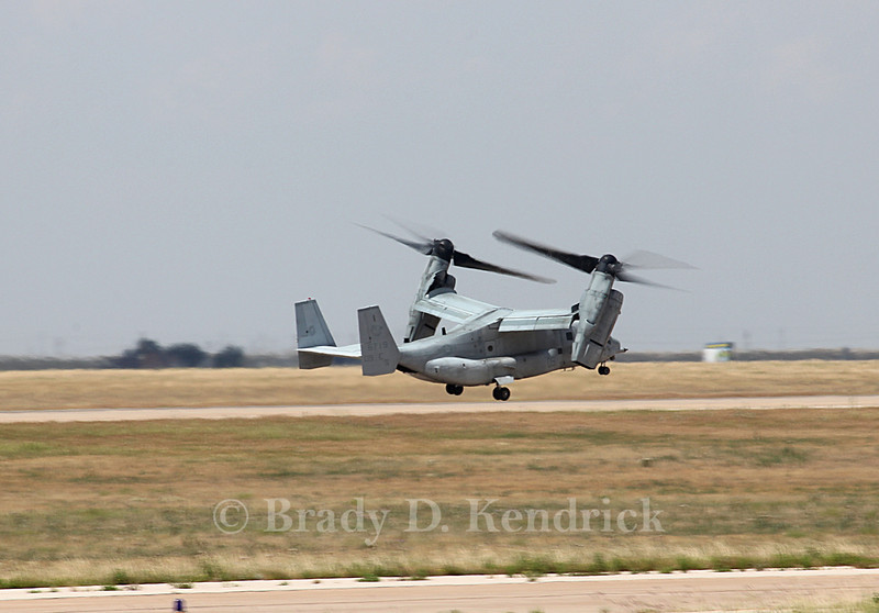 "-(Aircraft) Boeing MV-22B Osprey<br /> -(Nation & Service) United States Marine Corps<br /> -(Squadron) Marine Medium Tiltrotor Squadron 266 ""Fighting Griffins""<br /> -(Home Base) Marine Corps Air Station New River, North Carolina"